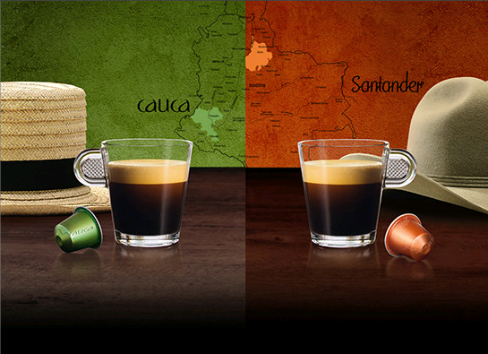 Новые сорта: Nespresso Colombian Terroirs Limited Edition